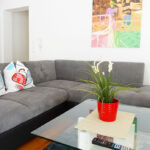Wohnzimmer Ferienwohnung mit 3 Schlafzimmern